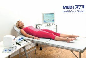 meting van de celgezondheid en lichaamsamenstelling
