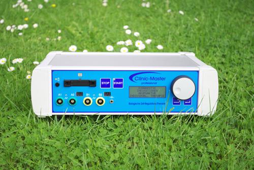 Microstroomapparaat met acht elektroden voor de hoogste effectiviteit