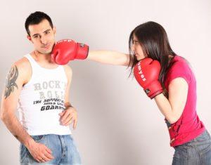 stress wordt niet opgelost met vechten